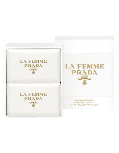 Prada La Femme Prada Soap Set of Two-NO COLOUR-One Size
