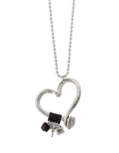 Uno De 50 Love At First Sight Necklace-SILVER-One Size