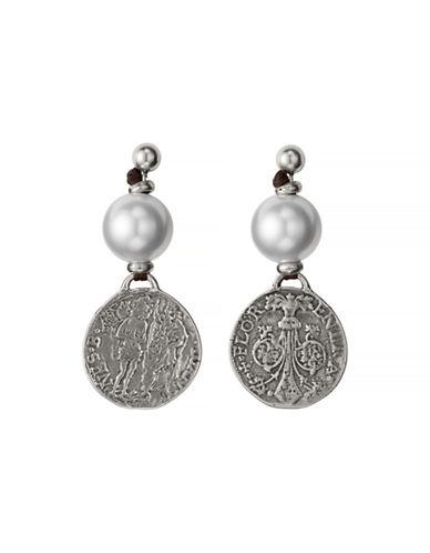 Uno De 50 Alexandria Earring-SILVER-One Size