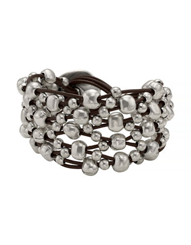 Uno De 50 Crazy Goat Bracelet-SILVER-One Size