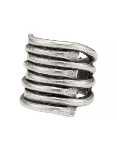 Uno De 50 Tornado Ring-SILVER-7