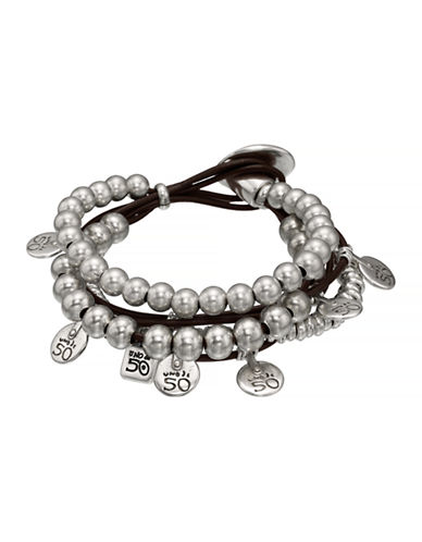 Uno De 50 What A Mess! Bracelet-SILVER-Medium