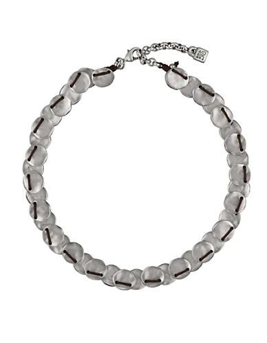 Uno De 50 Making Esses Sterling Silver Necklace-SILVER-One Size