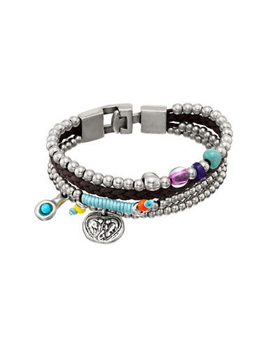 Uno De 50 Multi Earth and Heaven Bracelet-ASSORTED-One Size