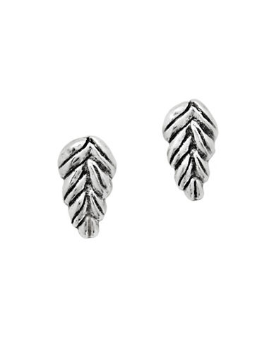 Uno De 50 Silver At Dawn Stud Earrings-SILVER-One Size
