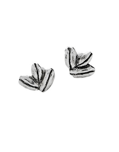 Uno De 50 Dew Stud Earrings-SILVER-One Size