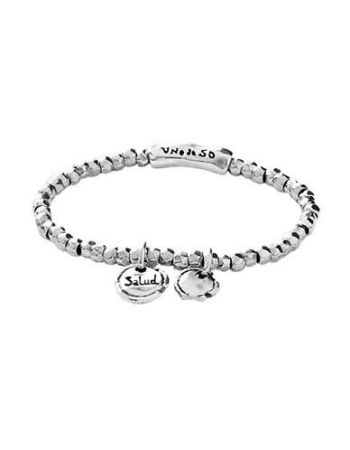 Uno De 50 Ironclad Health Silver Bracelet-SILVER-One Size