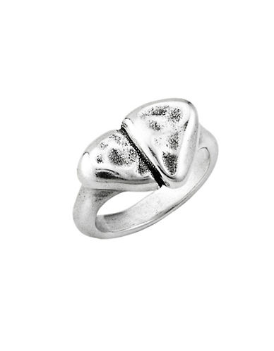 Uno De 50 First Date Ring-SILVER-7