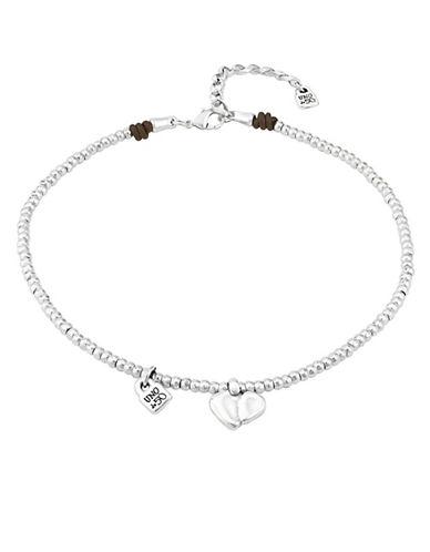 Uno De 50 Romeo Heart Necklace-SILVER-One Size