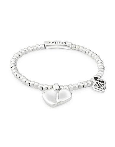 Uno De 50 Romeo Heart Bracelet-SILVER-One Size