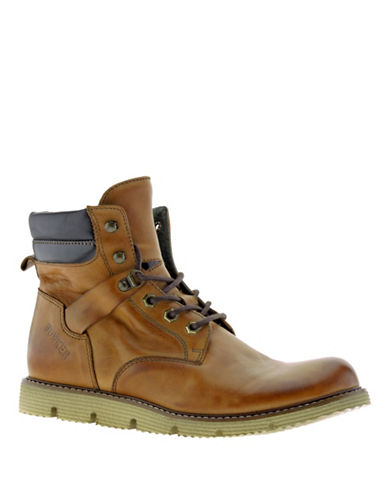 Bunker Leather Ankle Boots-CAMEL-EU 40/US 7