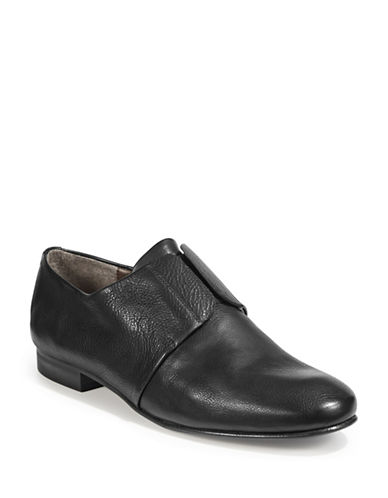 Coclico Itchi Laceless Leather Oxfords-BLACK-EUR 39.5/US 9.5