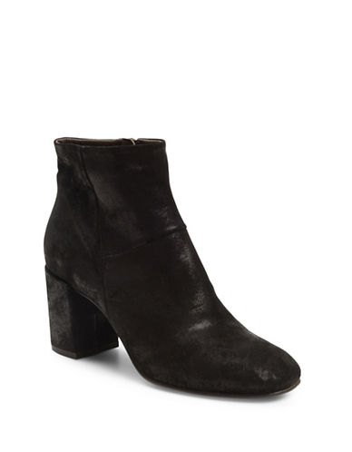 Coclico Leitzel Suede Booties-BLACK-EUR 38/US 8