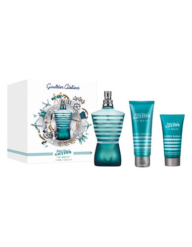 Jean Paul Gaultier Le Male Three-Piece Fathers Day Gift Set-0-125 ml