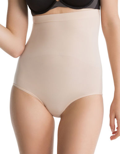 Spanx Higher Power Panties-SOFT NUDE-Medium