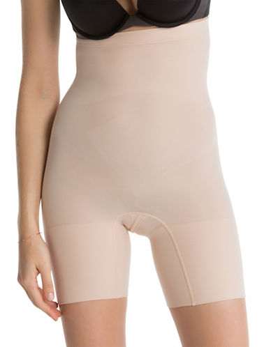 Spanx Higher Power Shorts-SOFT NUDE-Small
