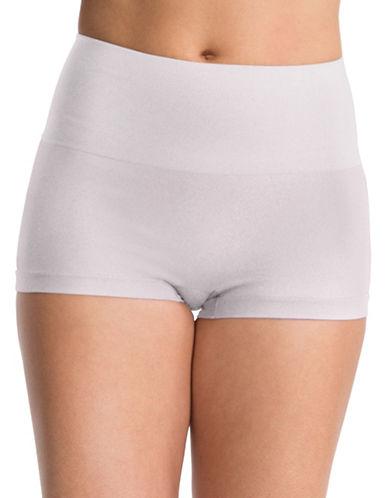Spanx Everyday Shaping Boyshort Panty-WHITE-X-Large