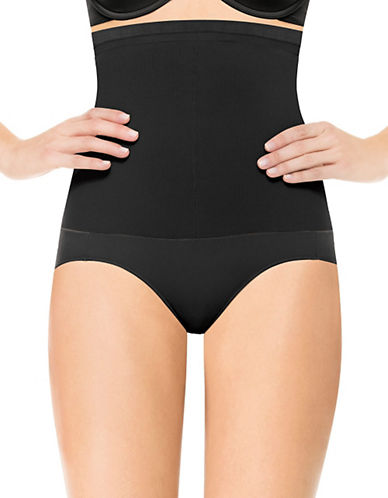 Assets Red Hot Label By Spanx Assets Red Hot Label Super Control Highwaist Panty-BLACK-5 plus size,  plus size fashion plus size appare