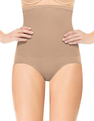 Assets Red Hot Label By Spanx Assets Red Hot Label Super Control Highwaist Panty-MEDIUM BEIGE-3 plus size,  plus size fashion plus size appare
