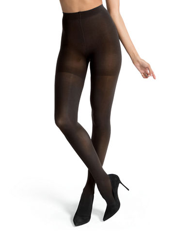 Spanx Luxe Leg Opaque Tights-GREY-E