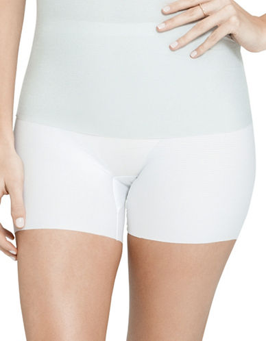 Spanx Core Controllers Girl Shorts-WHITE-Large