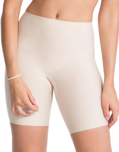 Spanx Thinstincts Targeted Shorts-SOFT NUDE-Large