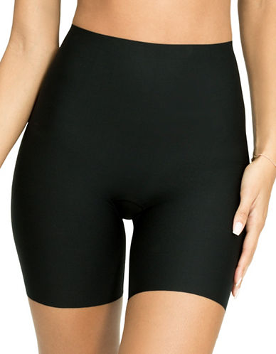 Spanx Thinstincts Targeted Shorts-BLACK-Large