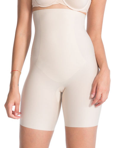 Spanx Thinstincts High-Waist Shorts-SOFT NUDE-Medium