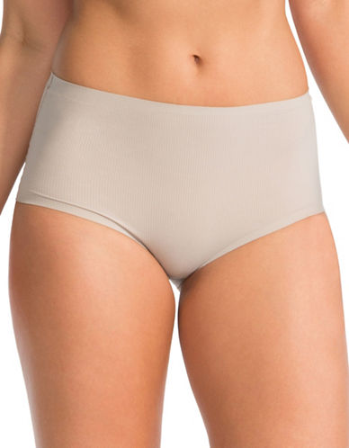 Spanx Hi-Hipster Briefs-GREY-Large plus size,  plus size fashion plus size appare