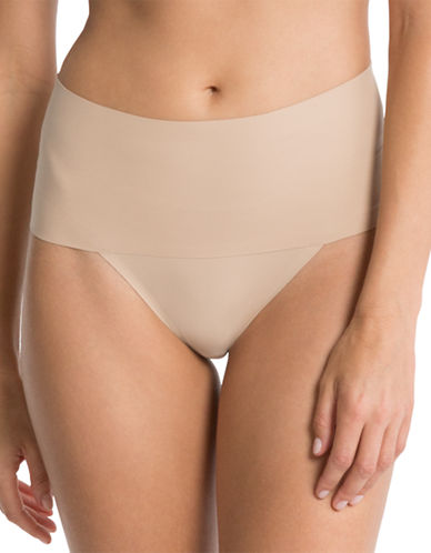 Spanx Undie-tectable Thong-SOFT NUDE-X-Large plus size,  plus size fashion plus size appare