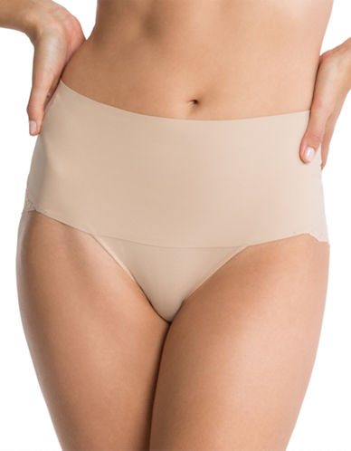 Spanx Undie-tectable Lace Cheeky Panty-NUDE-X-Large
