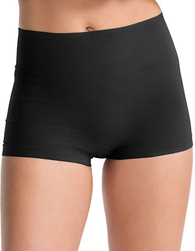 Spanx Everyday Shaping Boyshort Panty-BLACK-X-Large