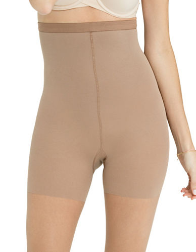 Spanx Luxe Leg Sheer Tights-BEIGE-E