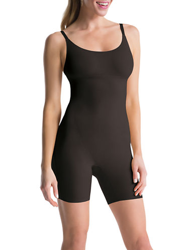 Assets Red Hot Label By Spanx Mid Thigh Body Shaper-BLACK-X-Large