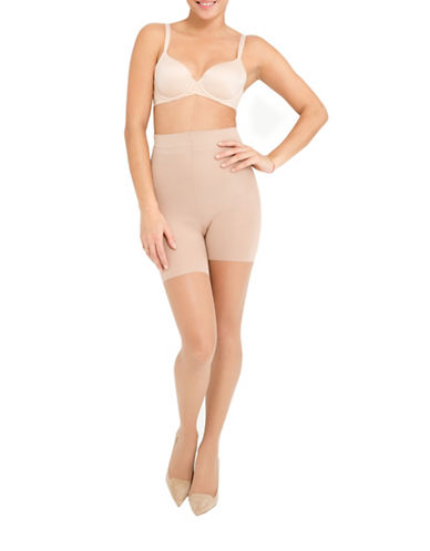 Assets Red Hot Label By Spanx Shaping Sheers-BEIGE-3 plus size,  plus size fashion plus size appare