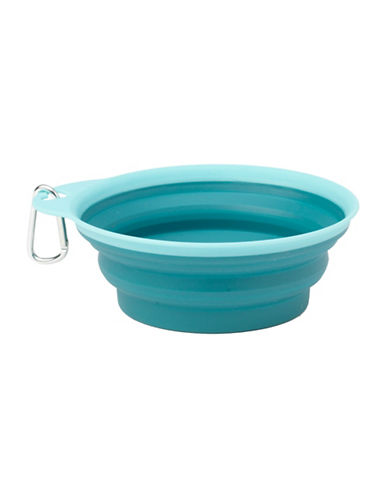 Petrageous Designs Caseys Collapsible Bowl-BLUE-One Size