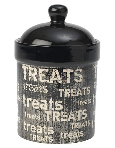 Petrageous Designs Vintage Treat Jar-BLACK-One Size