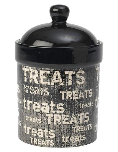 Petrageous Designs Vintage Treat Jar-BLACK-One Size