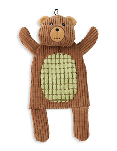 Petrageous Designs Crinklerageous Bobby The Bear Toy-BROWN-One Size