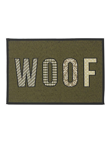 Petrageous Designs Woof Tapestry Placemat-OLIVE-One Size