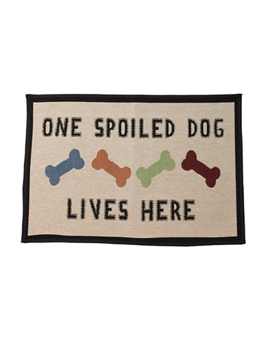 Petrageous Designs One Spoiled Dog Tapestry Placemat-MULTI-One Size