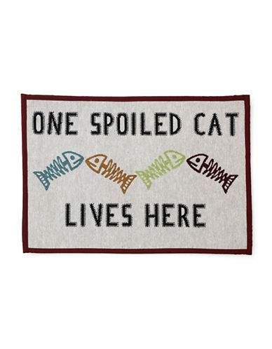 Petrageous Designs One Spoiled Cat Tapestry Place Mat 89500282