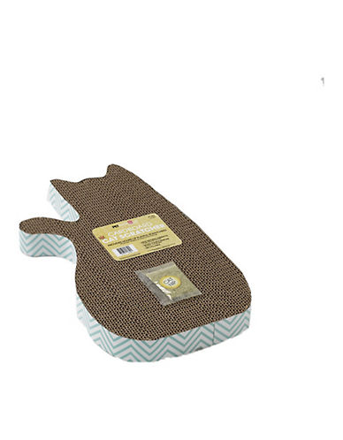 Petrageous Designs Toms Cat Scratcher-BLUE/BROWN-One Size