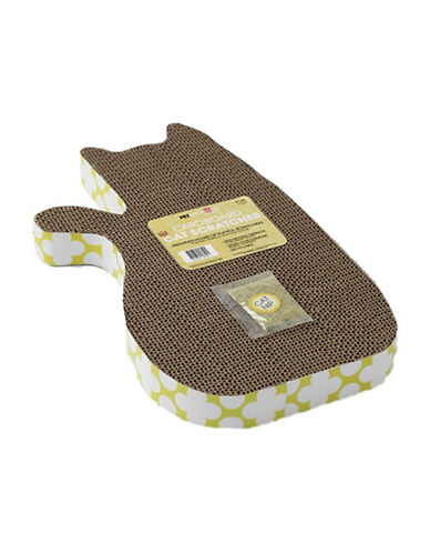 Petrageous Designs Tom's Cat Shaped Scratcher-GREEN-One Size 89501736_GREEN_One Size