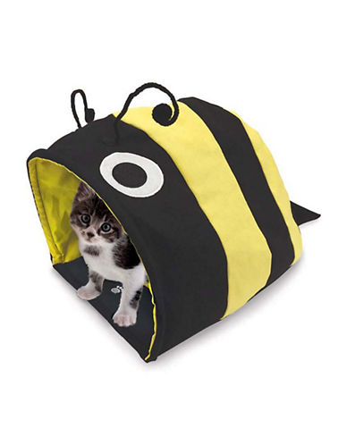 Petrageous Designs Bumble Bee Hide Away Cat Cave-YELLOW/BLACK-One Size