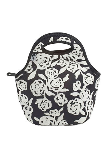 Built Garden Rose Insulating Lunch Tote-BLACK-One Size