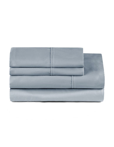 Distinctly Home Four-Piece 400 Thread-Count Egyptian Cotton Sheet Set-TRADEWINDS-Double