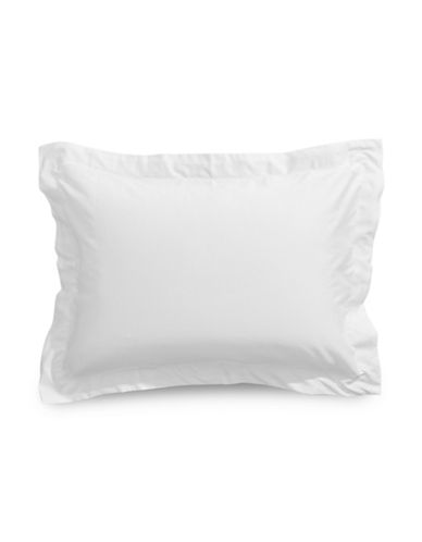 Distinctly Home Two-Piece 400 Thread Count Cotton Pillowcases-BRIGHT WHITE-Standard