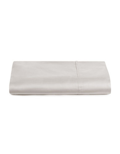 Distinctly Home 400 Thread Count Egyptian Cotton Flat Sheet-LUNAR ROCK-King