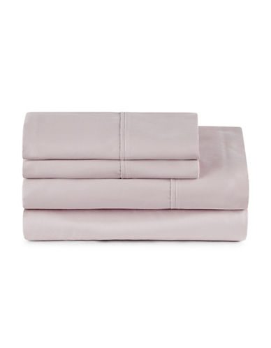 Distinctly Home Four-Piece 400 Thread-Count Egyptian Cotton Sheet Set-LILAC-Twin